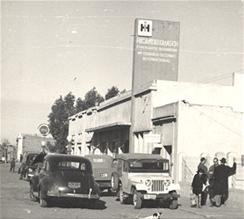 Frente de Ferretería Guasch en los sesentas