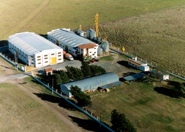 vista aérea de la planta Guasch